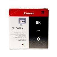 Inkoustová cartridge Canon PFI303BK, black, originál