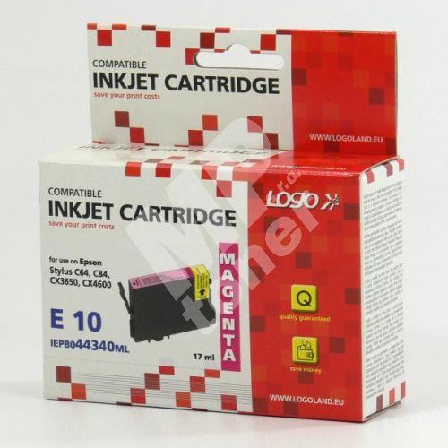 Cartridge Epson T044340 červená, LOGO 1