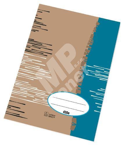 Školní sešit A4 420 čistý/20 listů