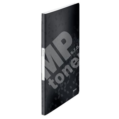 Katalogová kniha Leitz WOW, 20 kapes, černá 1