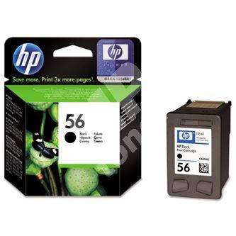 Cartridge HP C6656AE, black, No. 56, originál 1