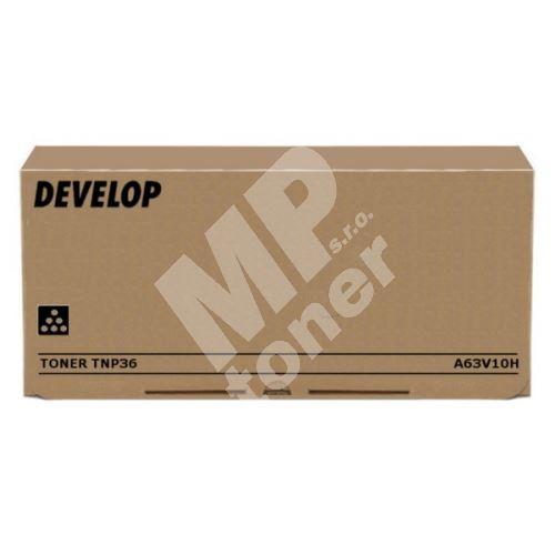 Toner Develop TNP36, A63V10H, black, originál 1
