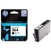 Inkoustová cartridge HP CB316EE Photosmart B8550, C5380, černá, No. 364, originál