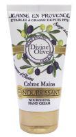 Jeanne en Provence Výživný krém na ruce - Oliva, 75ml