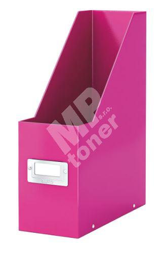 Archivační stojan na časopisy Leitz Click-N-Store wow, růžový 1