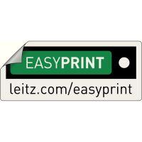 Pákový pořadač Leitz 180, A4, 52 mm, PP/karton, se spodním kováním, červený 9