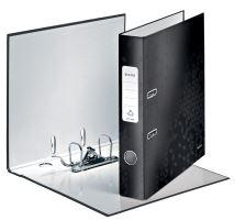 Pákový pořadač 180 Wow, černá, 52 mm, A4, PP/karton, LEITZ 1