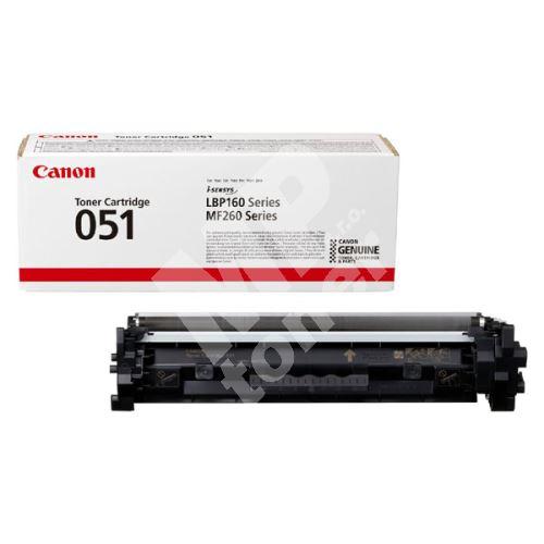 Toner Canon CRG 051, black, 2168C002, originál 1