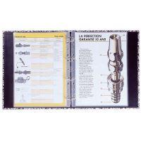 Laminovací fólie kapsy 80 mic, A4, Plasticlas (s eurozávěsem)
