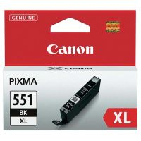 Inkoustová cartridge Canon CLI-551Bk XL, iP7250, MG5450, MG6350, black, originál