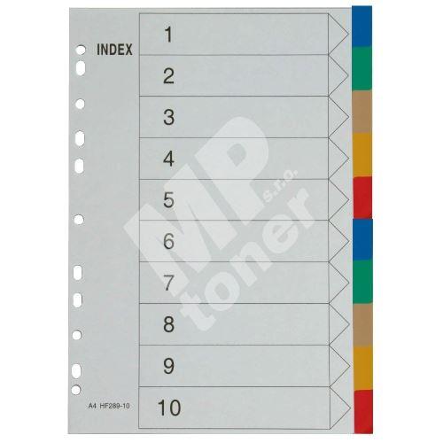 Rozdružovač A4 10 barev 1