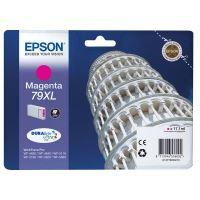 Inkoustová cartridge Epson C13T79034010, WF-5620DWF, WF-5110DW, 79XL, magenta, originál