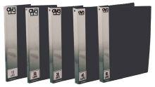 Kniha katalogová A4 10 kapes, neprůhledná, černá