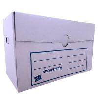 Archivní systém Hit pro 5 krabic, 53,5x35x27cm, bílo-hnědá