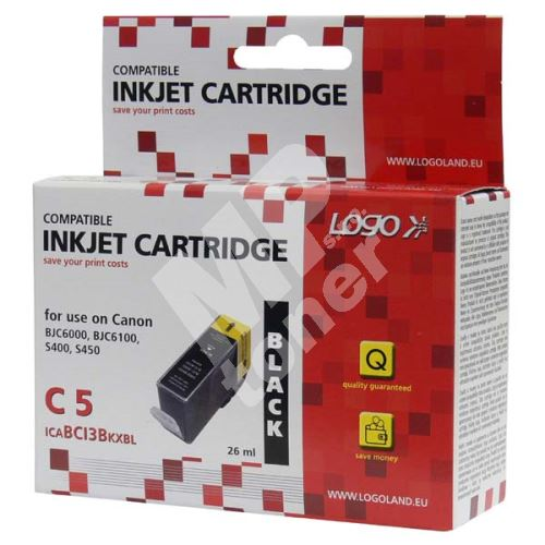 Cartridge Canon BCI-3BK černá, Logo 2