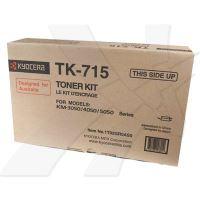 Toner Kyocera TK-715, FS-3050, 4050, 5050, black, originál