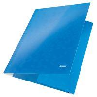 Tříchlopňové desky Leitz WOW A4, modré 2