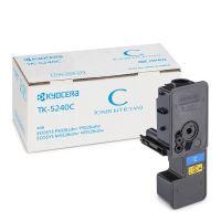 Kompatibilní toner Kyocera TK-5240C, M5526cdn, M5526cdw, cyan, MP print