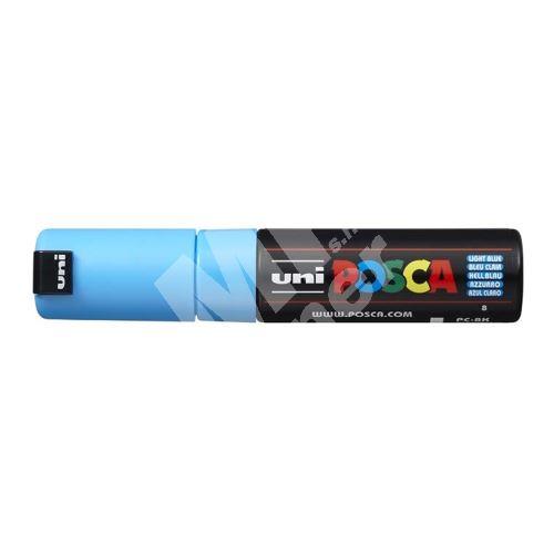 Uni Posca PC-8K akrylový popisovač, 8 mm, sv. modrý 1