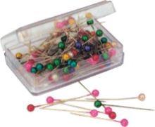 Špendlíky aranžerské s plastovou hlavičkou HEA0506, 1bal/100ks 1