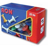 Připínáček plastový Ron 435, 1bal/25ks, mapový