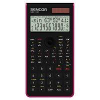 Kalkulačka Sencor SEC 160 RD, červená, školní, dvanáctimístná