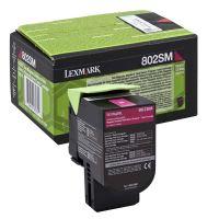 Toner Lexmark 80C2SM0, CX310dn, CX310n, CX410de, CX410, magenta, originál