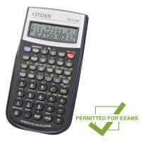 Kalkulačka Citizen SR270N, černá, vědecká, desetimístná