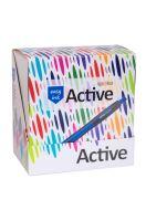Kuličkové pero Spoko Active Easy Ink 0,5mm, mix barev 5