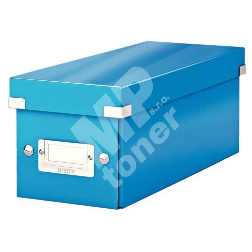 Archivační krabice na CD Leitz Click-N-Store WOW, modrá 1