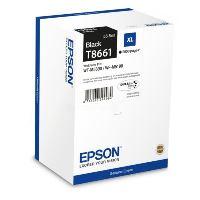 Inkoustová cartridge Epson C13T866140, WorkForce WF-M5190, black, XL, originál