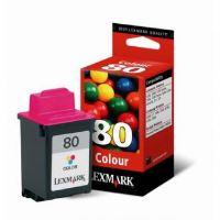 Inkoustová cartridge Lexmark Z11, 3200, 5700, 7000, 12A1980 color, č. 80, originál