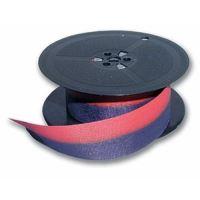 Barvicí páska pro psací stroje DIN 1, 13 mm x 10 m, červeno - černá, 1 cívka, POH1C, ARMOR