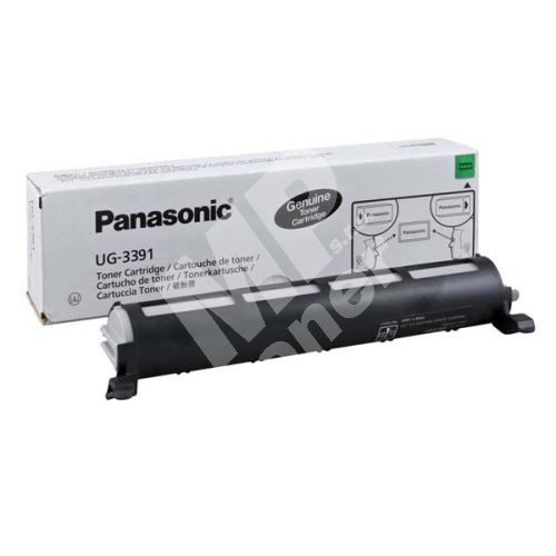 Toner Panasonic UG-3391, black, originál 1