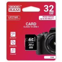 32GB Goodram Secure Digital Card, SDHC, UHS-I, Class 10