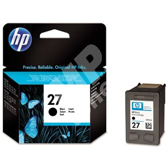 Cartridge HP C8727AE, black, No. 27, originál 1