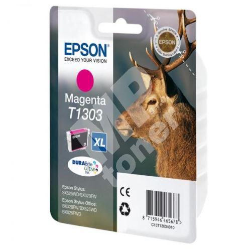 Cartridge Epson C13T13034012, magenta, originál 1