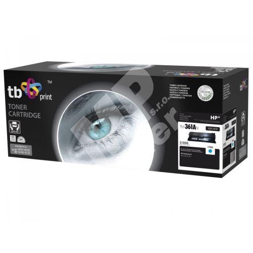 TB toner kompatibilní s HP CF361A, Cyan, 5000, new 1