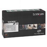 Toner Lexmark E323, E323 12A7405, černá, originál 2