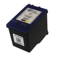 Renovace cartridge HP C6657A color, No.57, plněno na 3 x 7ml. Plná kapacita