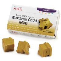 Tuhý inkoust Xerox WorkCentre C2424 Malibu, yellow, 108R00662, 3ks, originál