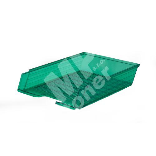 Box na papír Chemoplast průhledný, zelený 2