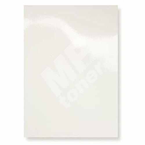 Kartónové desky pro zadní strany CHROMO, A4, 250 g, bílá, 100 ks