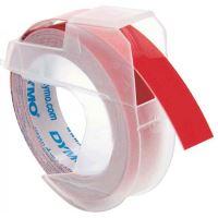 Páska do štítkovače Dymo Omega 9mmx3m červená, 24702, S0898150