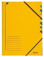 Třídící desky Leitz s gumičkou, 7 přihrádkové 4