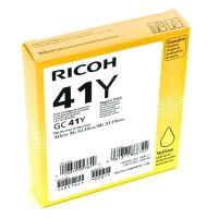Gelová náplň Ricoh GC41Y, 405764, Aficio SG3110N, yellow, originál