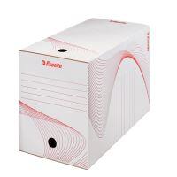 Archivační krabice Esselte 20 cm, bílá, karton, 128701