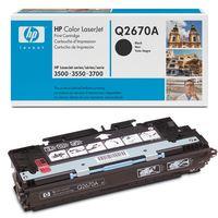 Toner HP Q2670A černá HP Color LaserJet 3550, originál