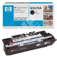 Toner HP Q2670A černá originál 1
