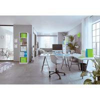 Desky s rychlovazačem Leitz WOW A4, zelené 4